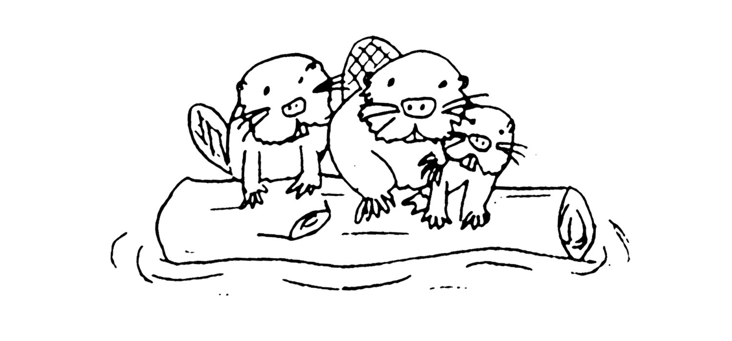 Chapter 6 Buz and the Beaver Dam Coloring Pages